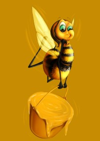 bee sketch 3c