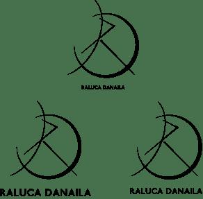 Logo Raluca Danaila fonturi b