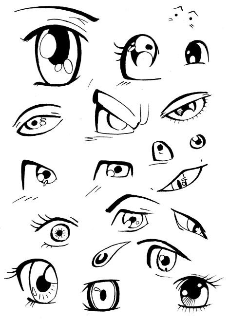manga eyes 001